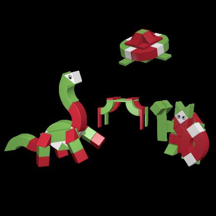 AINSTEIN KiGaSet 50 – Dinosaury a Vikingovia