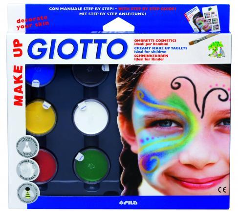 Farby na tvár s náradím Giotto