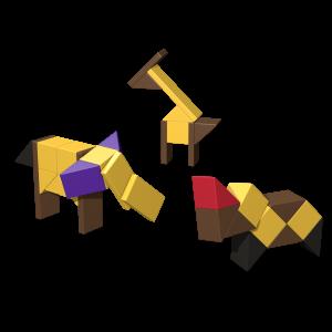 AINSTEIN - Africké zvieratá