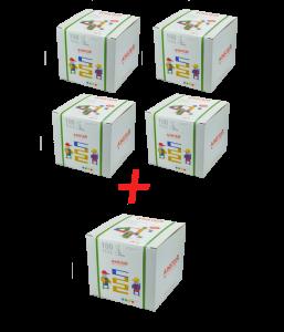 AINSTEIN 100 - KiGaSet  AKCIA 4 + 1
