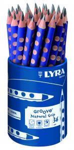 Ceruzka trojhranná GROOVE 10 mm - 1 bal/36 ks