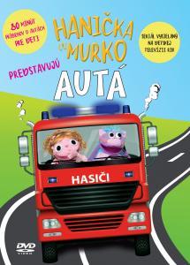 DVD Hanička a Murko predstavujú autá