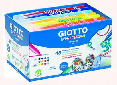 Fixky na textil Giotto 48 ks
