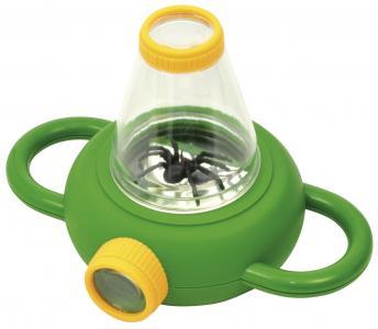 Lupa obojsmerná s pavúkom