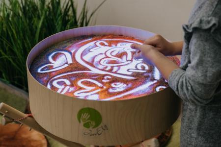 Magický svetelný stôl JonEly