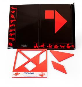 Magnetický tangram