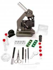 Mikroskop s príslušenstvom