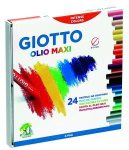 Olejové pastelky Giotto 24 ks