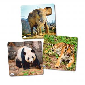 Puzzle set progresívne – zvieratá