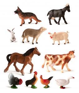 Zvieratká z farmy 11 ks