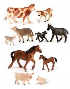 Zvieratká z farmy s deťmi